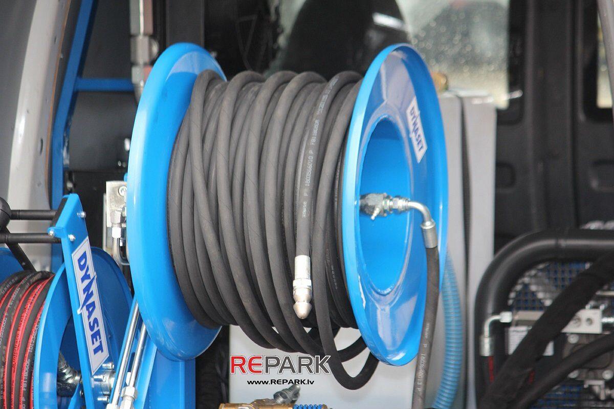 Kanalizacijas tīrīšanas augstspiena uzgalis 200 bar, 30 l/min