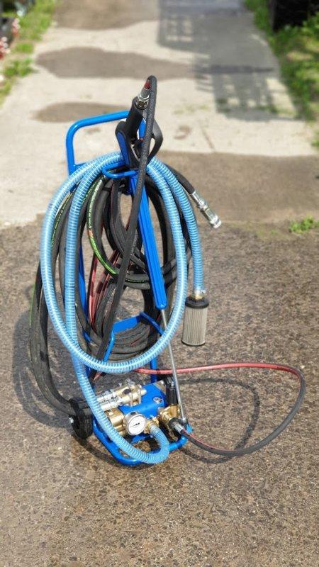 Augstspiediena mazgāšanas mobīlā iekārta HPW 250 MOBI