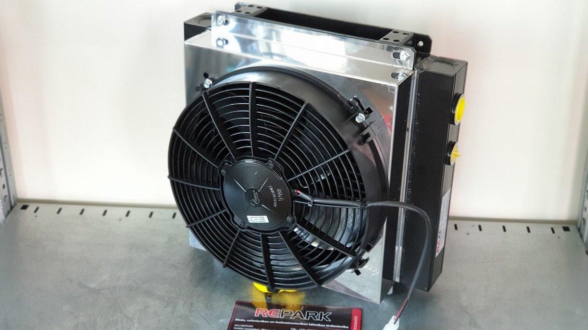 Eļļas dzesētājs RAAL GRS 150 24V
