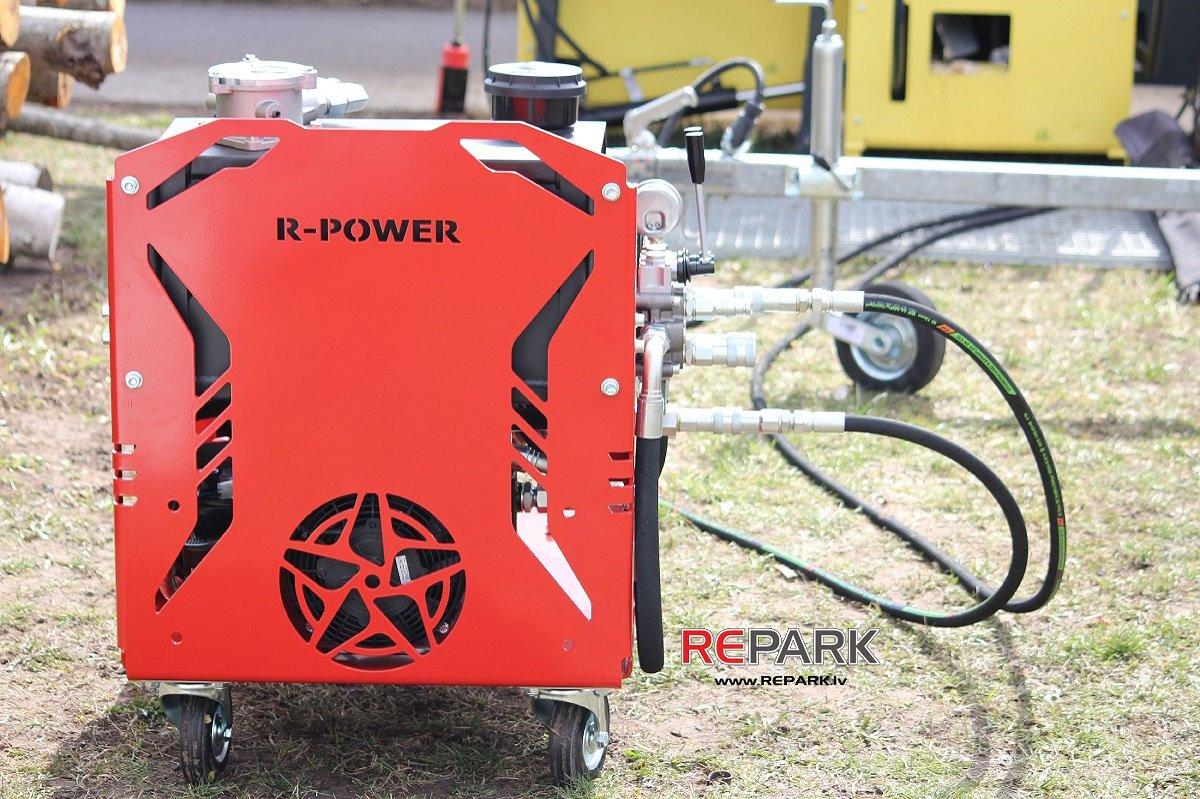 Hidrauliskā stacija ar iekšdedzes dzinēju RP35-8.5 R-Power