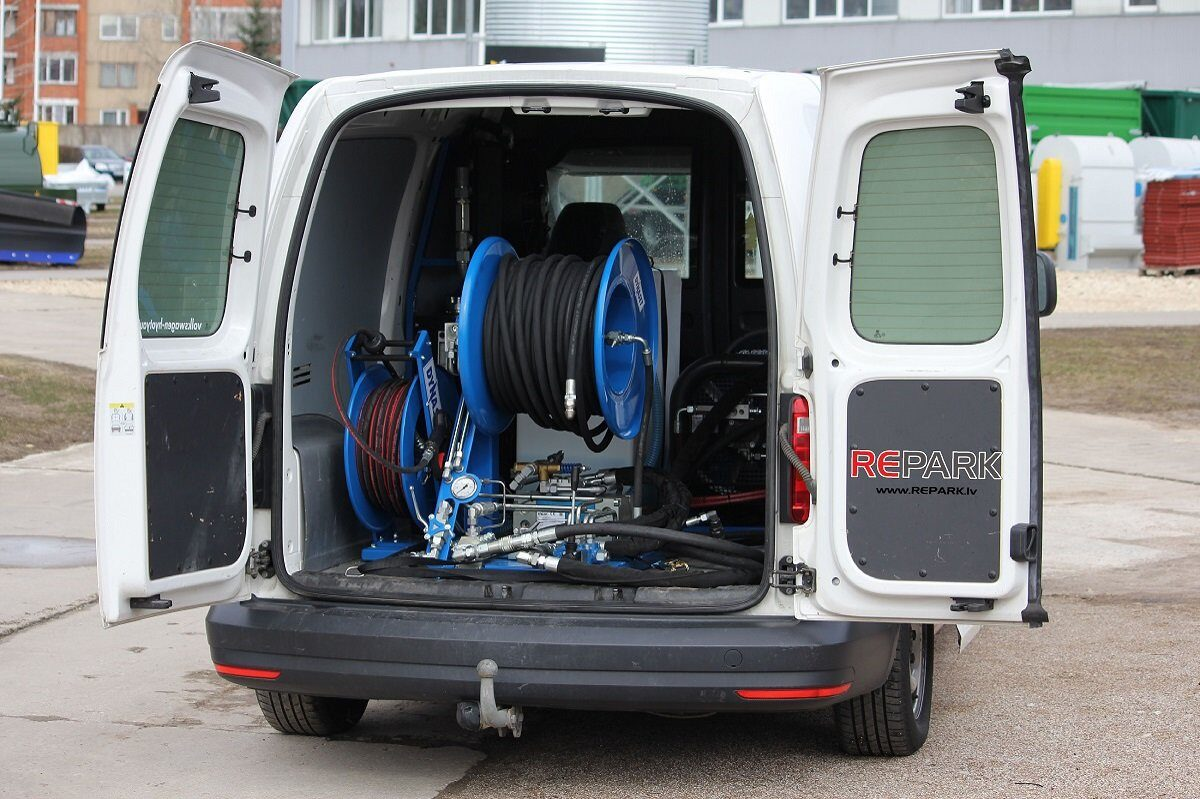 Kanalizacijas tīrīšanas augstspiena uzgalis 250 bar, 40 l/min