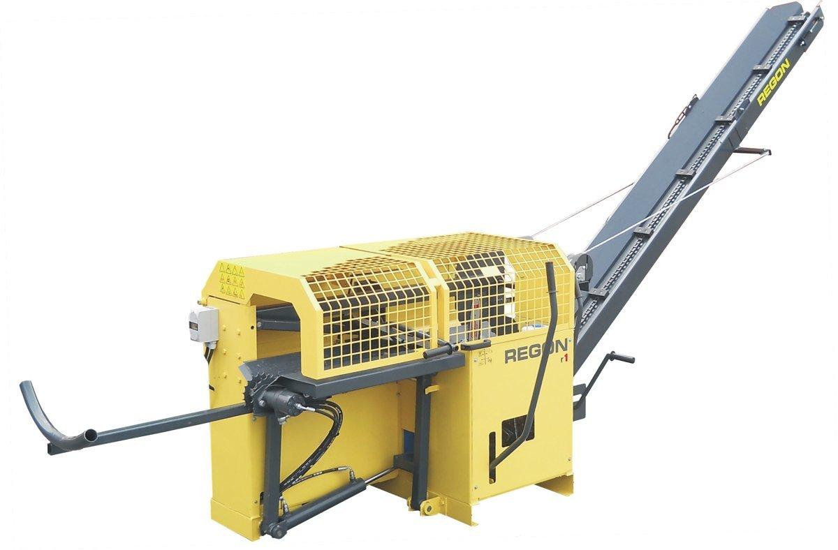 Malkas zāģis -skaldītājs REGON R1 TR no traktora hidraulikas