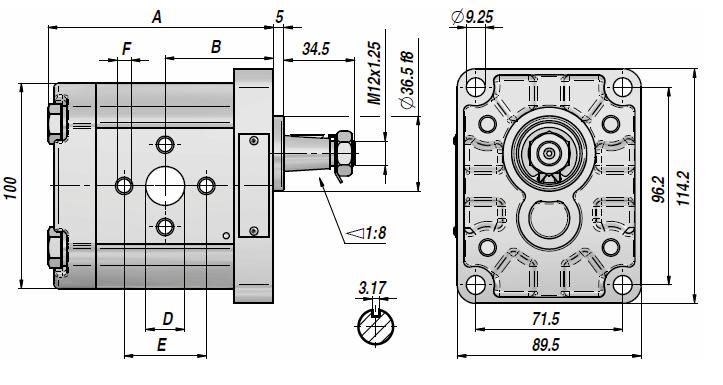 Hidromotors 8,5cm3 2.grupa
