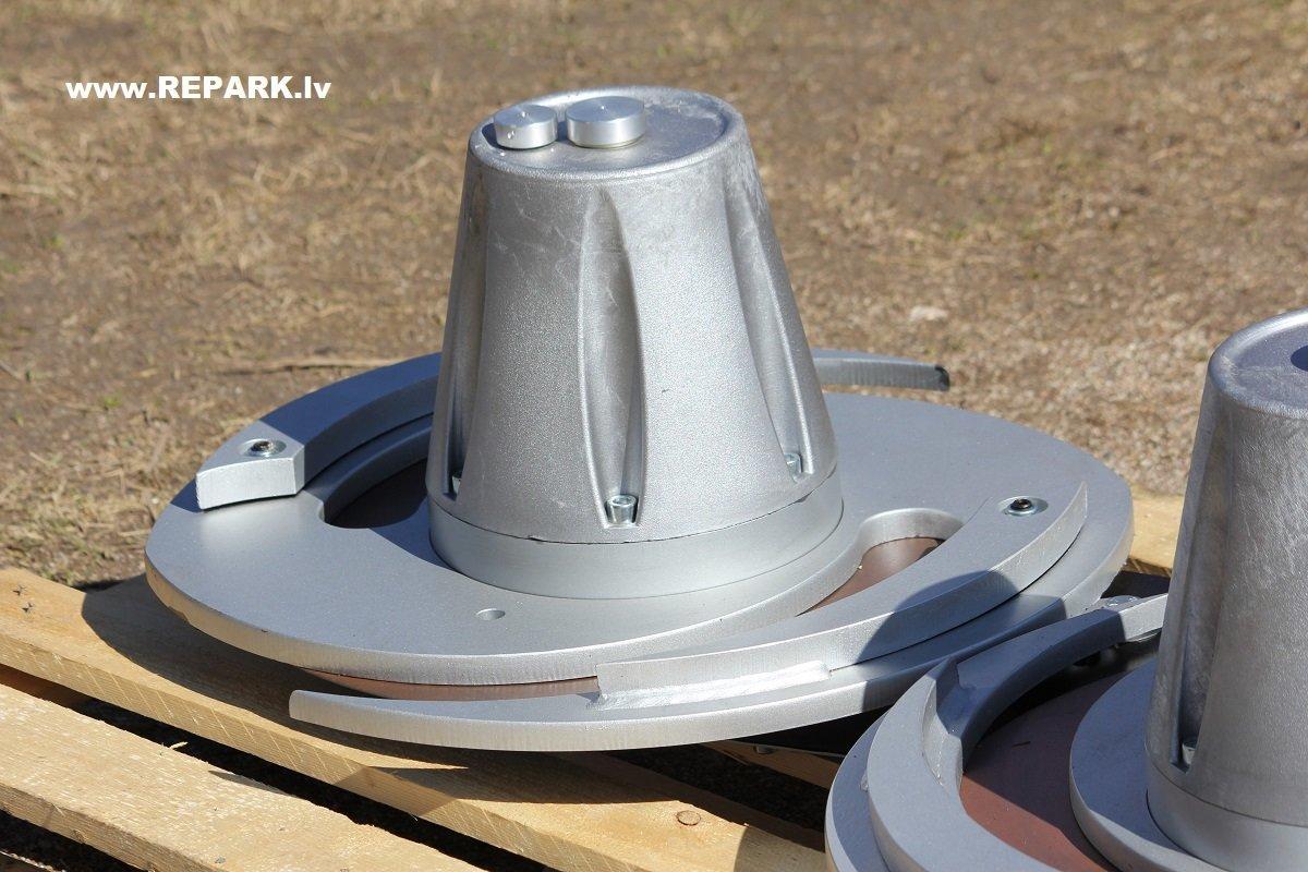 Krūmu zāles spirālveida griezējs SP 120