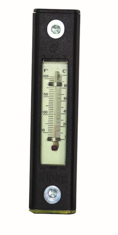 Līmeņrādis ar termometru