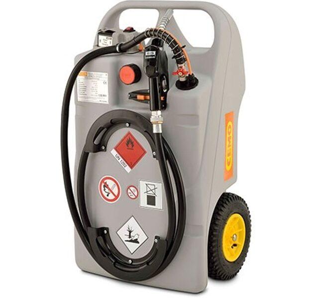Mobīlā degvielas pārvadāšanas tvertne CEMO Diesel 100 LiFePO4 Battery