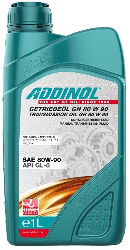 Transmisijas eļļa ADDINOL GH 80W90