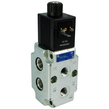 Virziena plūsmas vārsts magnētiskais 6/2 Rexroth Bosch 12V 50l/min