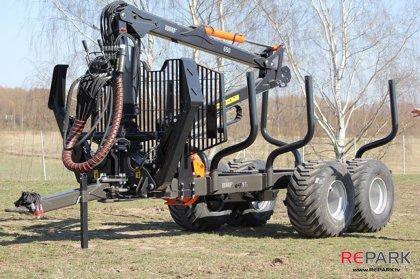 Piekabe BMF 9T2 ar hidromanipulatoru BMF 650
