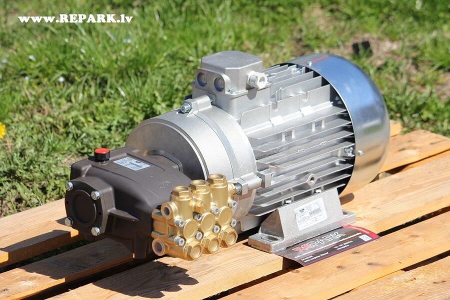 Augstspiediena mazgāšanas aprīkojums MMD21250R+dzinējs 7.5kW