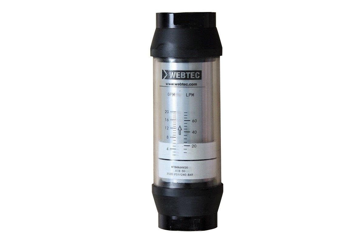 Eļļas plūsmas mērītājs 10-75 l/min