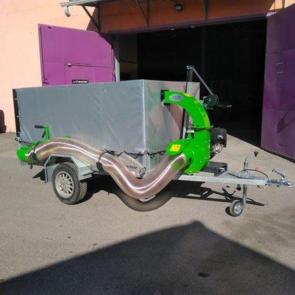 EP400 13ZS ar piekabi